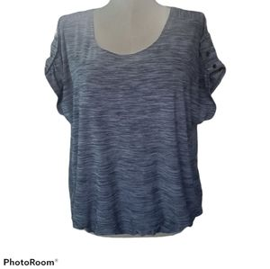 Suzie In The City Summer Gray Summer Top